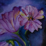 "Flowers, Water Colour Painting 12x16"" (19x25cm)"