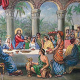 Wedding in Cana of Galilee (Reproduction), Tempera Painting by Veselin Nikolov