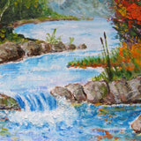 "Mountain Stream, Oil Painting 10x12"" (25x30cm)"
