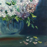 "Bunch of Flowers, Oil Painting 14x20"" (35x50cm)"