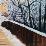 The Bridge, Oil Painting by Ivanka Alexieva