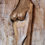 Beauty, Woodcarving by Nikifor Nikiforov