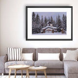 Winter - Photography Framed Art Print