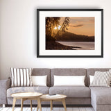 Sunset - Photography Framed Art Print