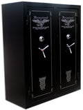 Double Door Gun Safe Level II  72 x 60 x 27 32-64 Guns