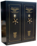 Double Door Gun Safe Level V  72 x 60 x 27 32-64 Guns
