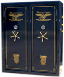 Double Door Arsenal Gun Safe Level V  72 x 60 x 27 32-64 Guns