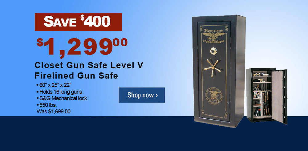 20% off closet gun safes level V image