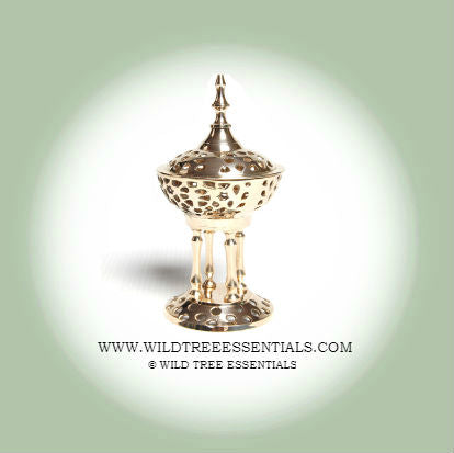Byzantine Gold Burner - Wild Tree Essentials