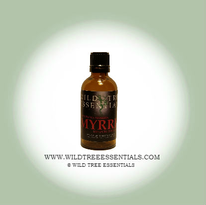 100% Pure Myrrh Oil (Commiphora Myrrha) - Wild Tree Essentials