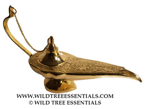 Large Aladdin's Lamp - Wild Tree Essentials