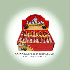 Swift-Lite 33mm Charcoal Tablets, 10 Per Roll. - Wild Tree Essentials