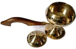 Brass Censer Burner with Handle - Wild Tree Essentials
