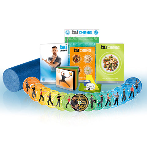 Tai Cheng 90 Day DVD Tai Chi Fitness Workout Programme