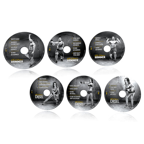 The Master's Hammer and Chisel Weights & Cardio Home Fitness DVD Workout