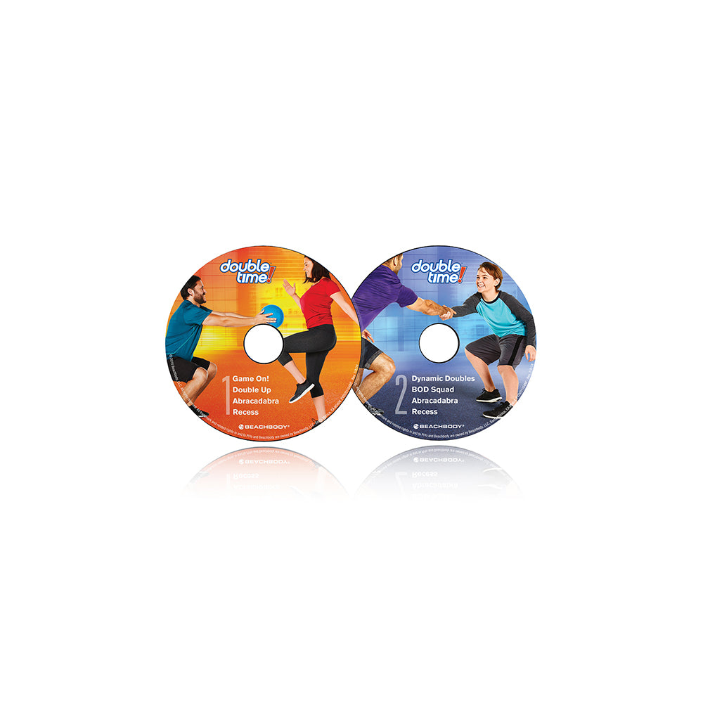 Beachbody Tony Horton' Double Time Family Buddy Workout DVD Package