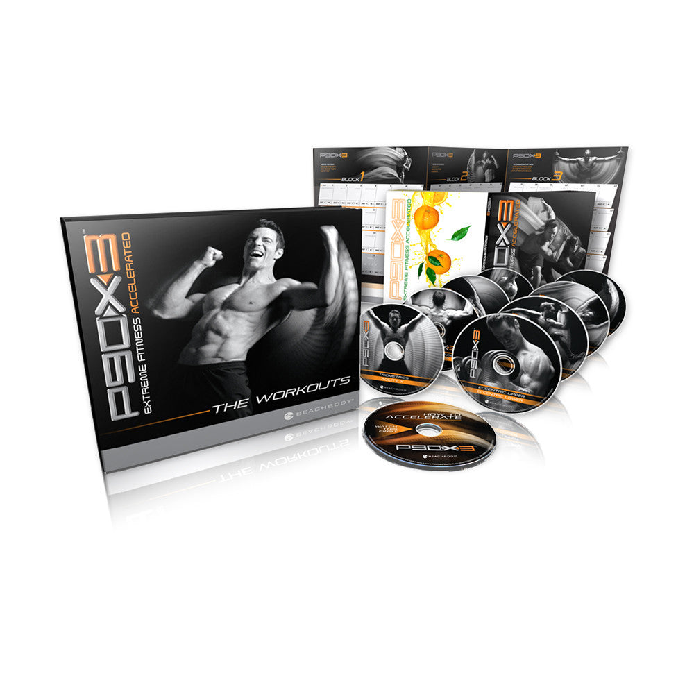 Tony Horton's P90X3 DVD Fitness Workout Programme