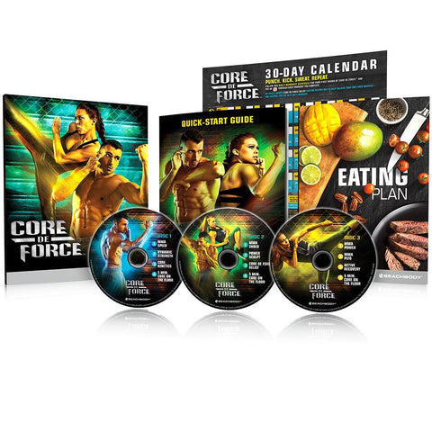 Core De Force Mixed Martial Arts Workout DVD Programme