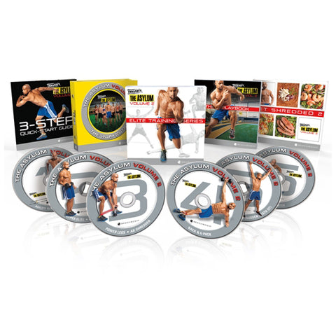INSANITY: THE ASYLUM® Volume 2 – Elite Training 30-day Workout DVD