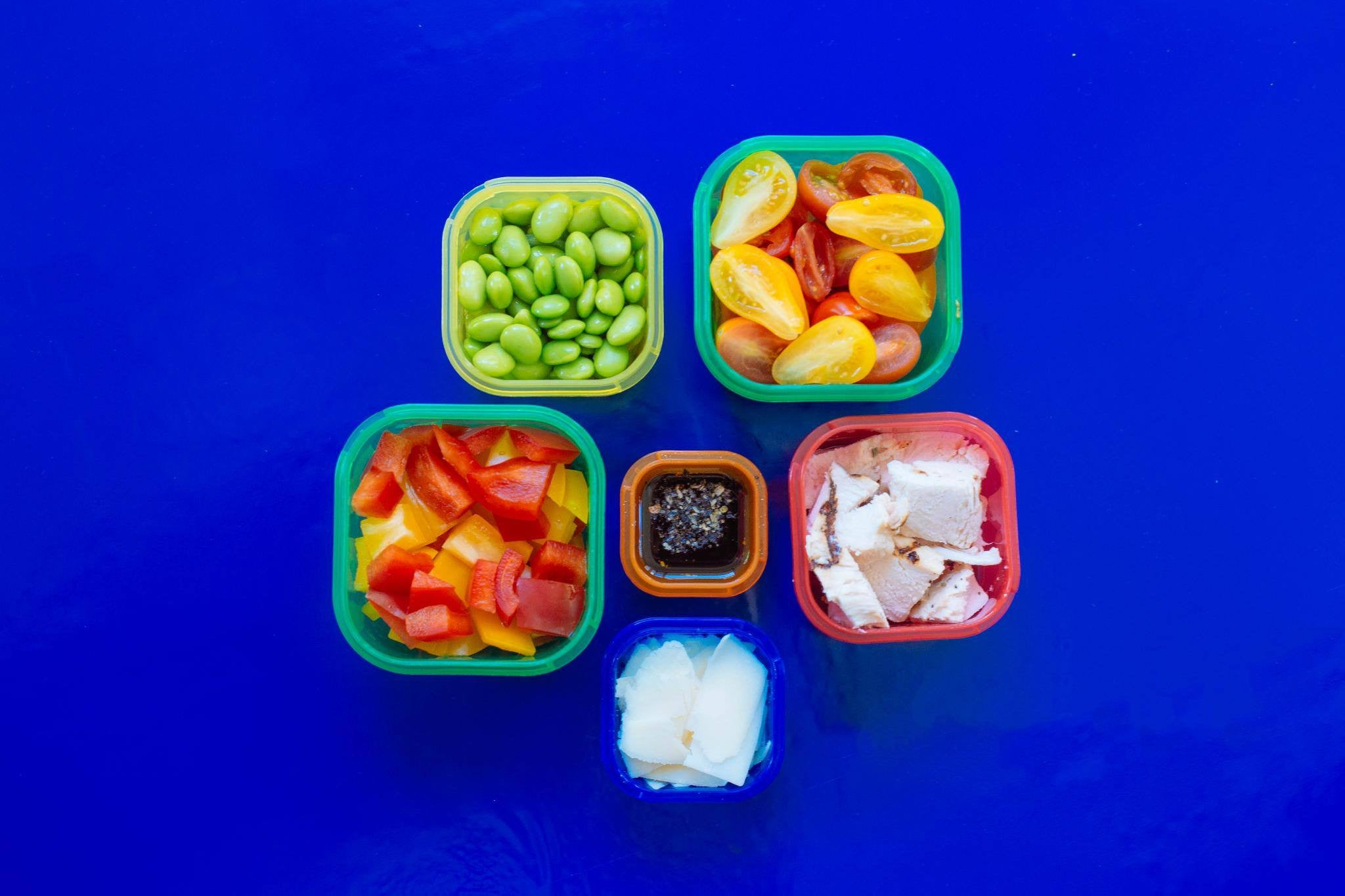 BEACHBODY Portion Control 7 Piece Container Kit - BPA FREE
