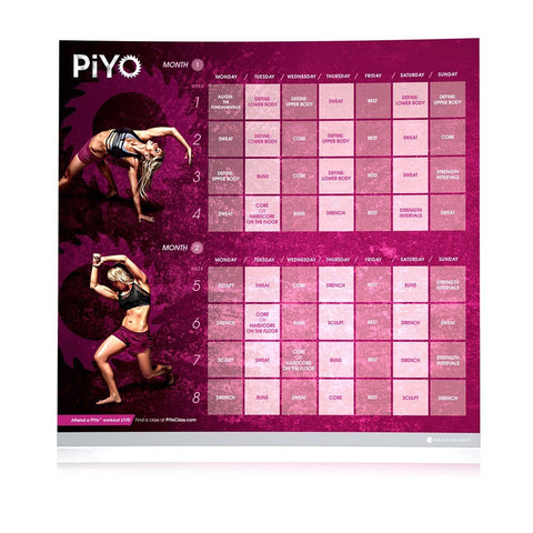 PiYo - Pilates, Yoga and Cardio DVD Home Fitness Workout