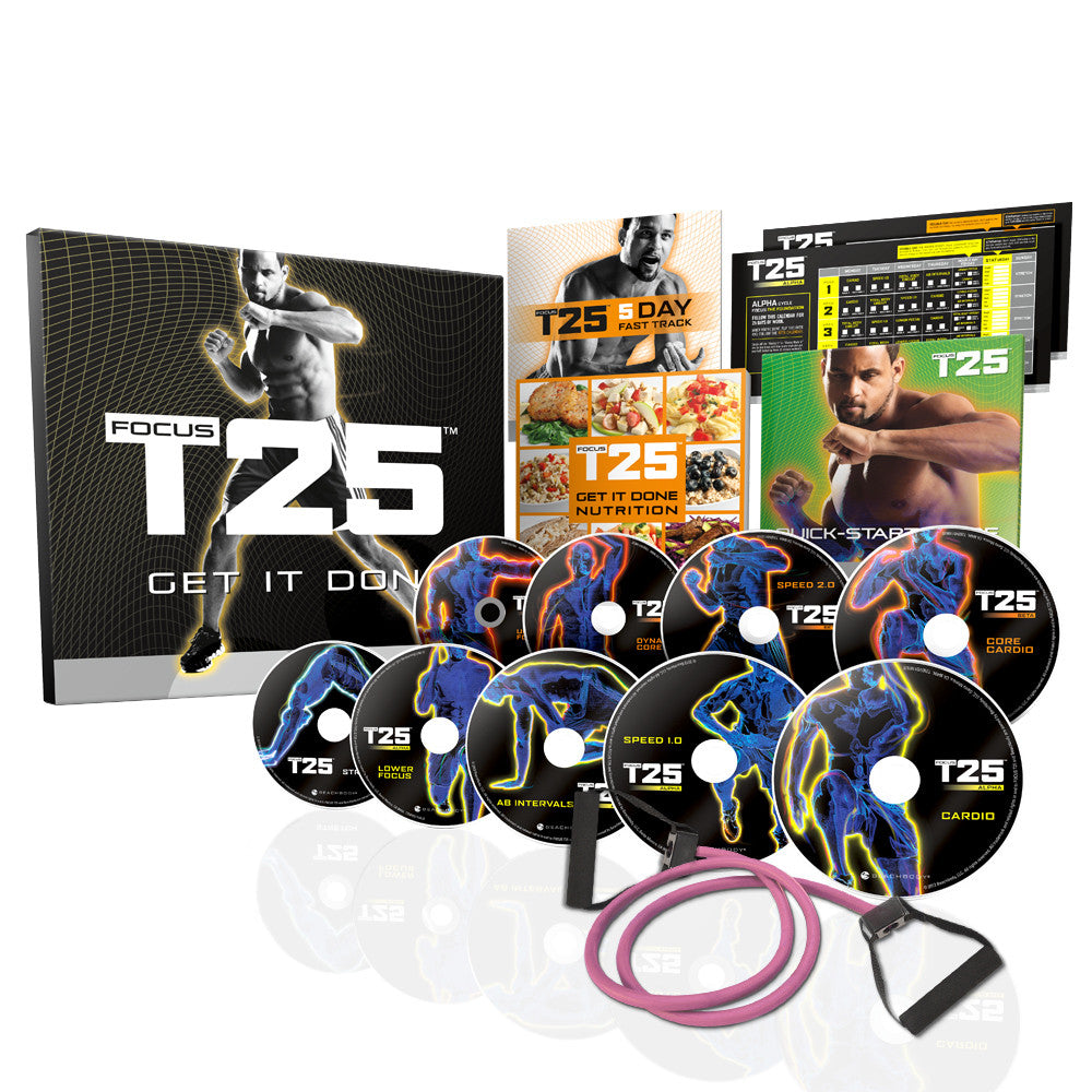 Shaun T's FOCUS T25 DVD Fitness Workout Programme