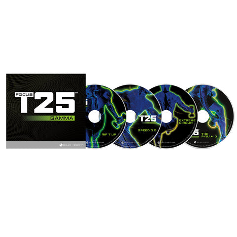 Beachbody FOCUS T25 Core Speed Shaun T 25 minute Core Workout DVD