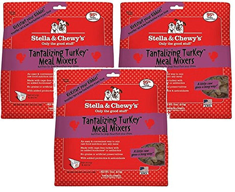 Stella & Chewys Freeze Dried Tantalizing Turkey (Pack of 3)