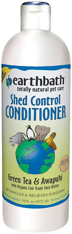 Earthbath All Natural Green Tea Conditioner Shed Control for Pets Dogs Cats