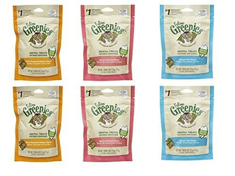 Greenies FELINE Dental Cat Treats - Variety