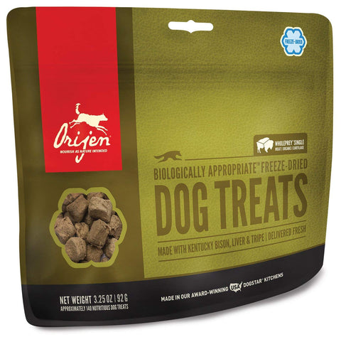Orijen Freeze Dried Bison Dog Treat