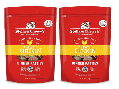 Stella & Chewy's Chewys Chicken Dinner Patties - 2 Pack