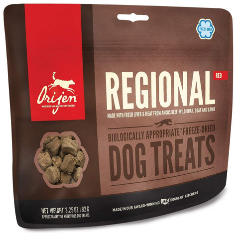 Orijen Freeze Dried Regional Red Dog Treat