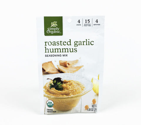 Roasted Garlic Hummus Seasoning Mix