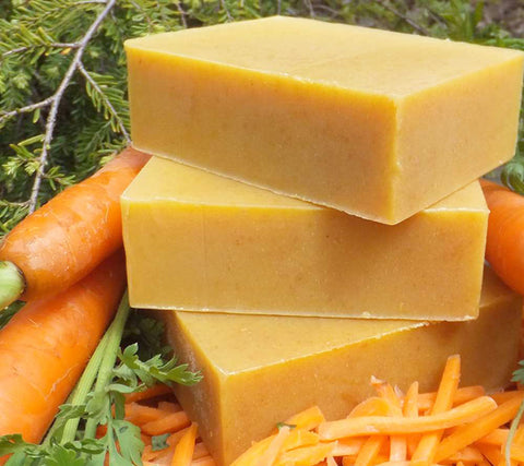 Carrot and Honey Artisan Complexion Soap