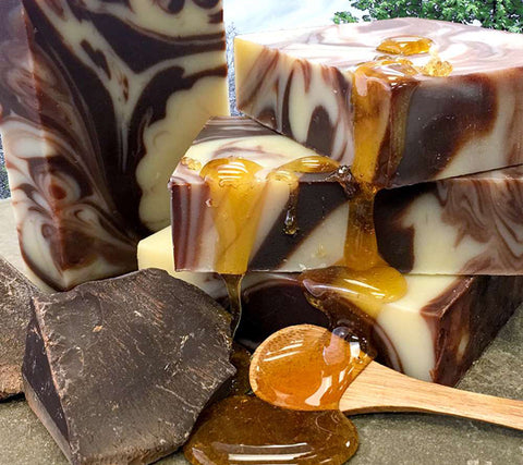 Chocolate and Honey Artisan Soap