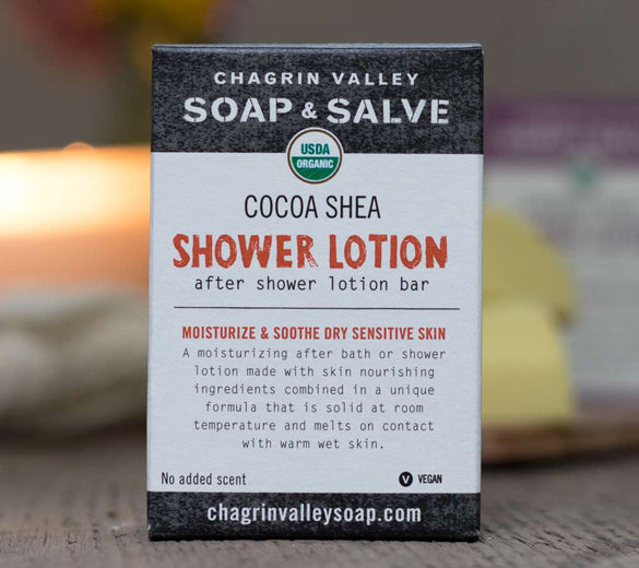 Cocoa Shea Shower Lotion Bar