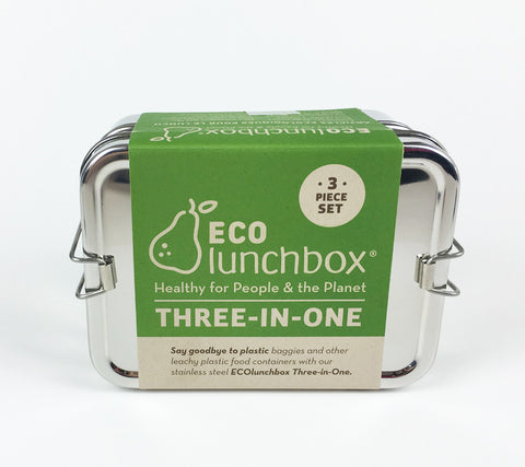 ECOlunchbox 3 in 1 Lunchbox Set