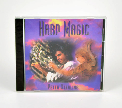 Harp Magic Music CD by Peter Sterling