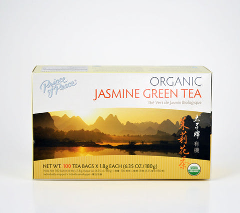 Jasmine Green Tea Teabags 100ct