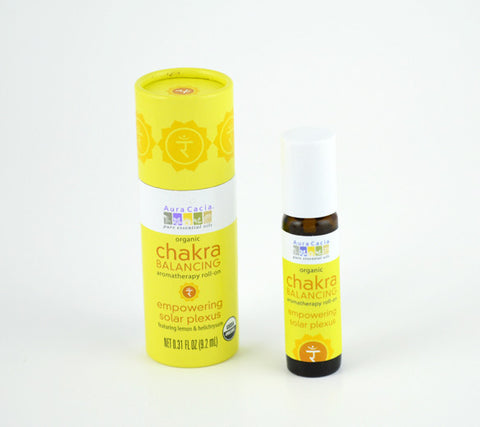 Chakra Scent Three natural perfume and Chakra balancing roll-on.