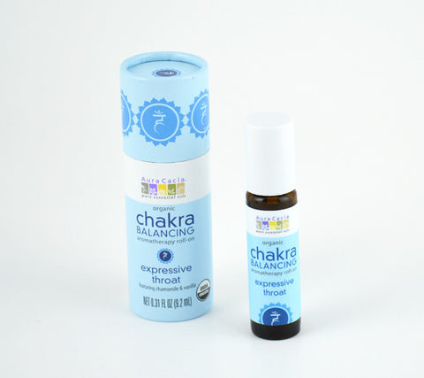 Chakra Scent Five natural perfume and Chakra balancing roll-on.
