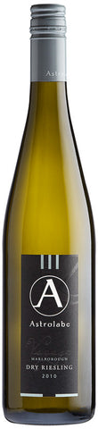 ASTROLABE PROVINCE Marlborough Dry Riesling 2010, BRAND CONNECT Asia Pacific
