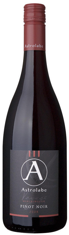 ASTROLABE PROVINCE Marlborough Pinot Noir 2008, BRAND CONNECT Asia Pacific