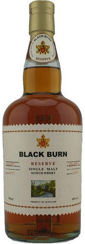 Black Burn Reserve Single Malt Scotch Whisky, BRAND CONNECT Asia Pacific