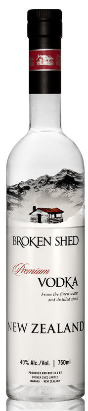 Broken Shed New Zealand Vodka, BRAND CONNECT Asia Pacific