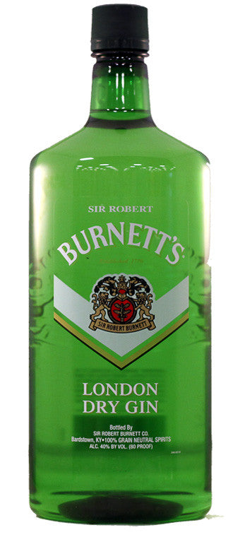 BURNETT'S London Dry Gin, BRAND CONNECT Asia Pacific