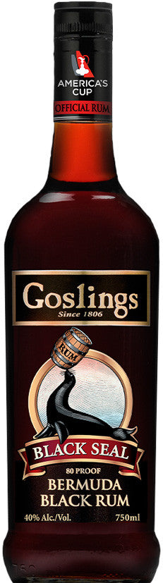 Goslings Black Seal 'Bermuda Black' Rum, BRAND CONNECT Asia Pacific