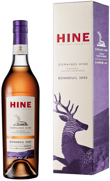HINE Vintages Domaines Hine Bonneuil 2005 Cognac Limited Edition, BRAND CONNECT Asia Pacific