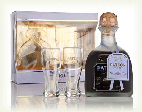 PATRÓN XO CAFE XO Cafe Coffee Liqueur Gift Pack (incl. 2 glasses), BRAND CONNECT Asia Pacific